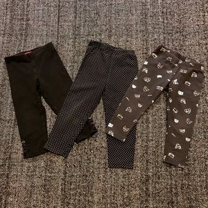 Three pairs of leggings size24m.